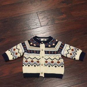 Peek kids boy sweater cardigan